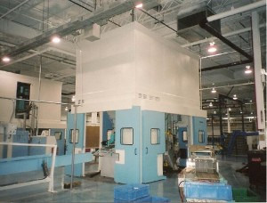 Punch Press Sound Enclosures