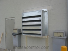 Interior Acoustic Louvers