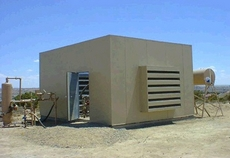 Acoustic Louver for Outdoor Housings