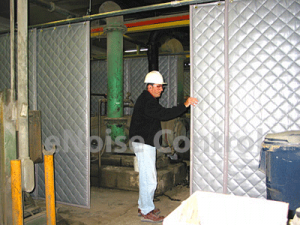 sound curtains - industrial noise control products