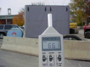 Outdoor Pump Sound Blanket
