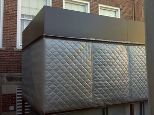 School Condenser Fan Enclosure