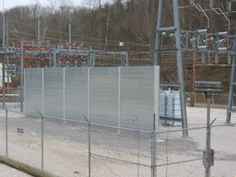 Outdoor industrial equipment can be quieted and visual aesthetics improved with proper soundproofing treatment.