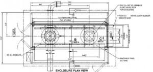 Deep Well Pump Enclosure Drawing