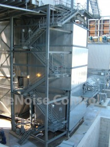 Electric Power Plant Noise Control