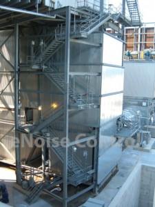 Electric Power Plant Noise Control Enoise Control