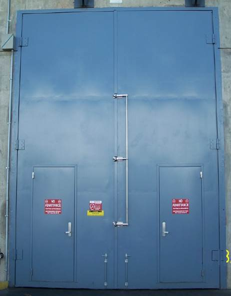 Industrial Sound Rated Doors & High STC Sound Rated Doors - eNoise Control Pezcame.Com