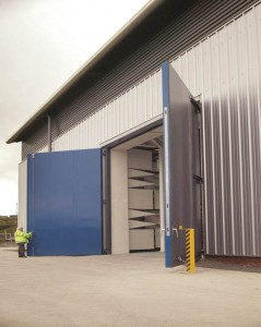 Industrial Sound Rated Doors