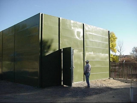 Barrier Enclosure GenSet