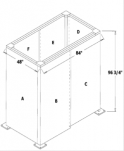 Four Sided Enclosure