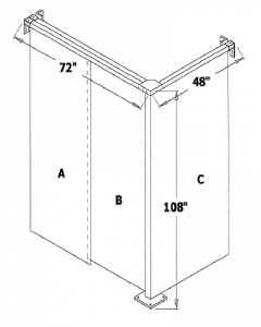 Two Sided Enclosure
