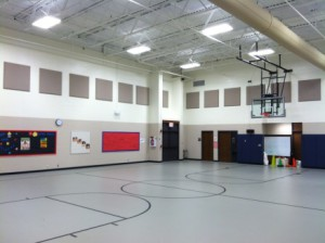 school gym after 2