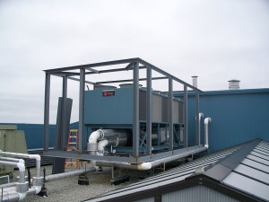 Roof Top Condenser Sound Barrier Wall Enoisecontrol