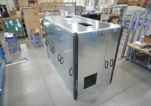enclosure with ventilation