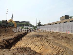Construction Site Sound Barrier Fence