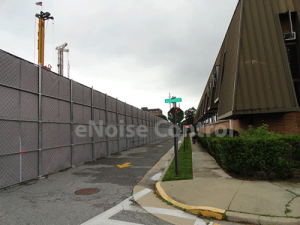 Sound Screen Barrier Fence