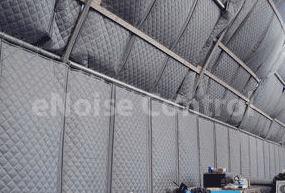 compressor building sound blankets interior