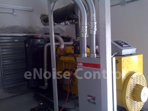 generator room silencers - interior