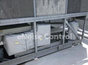 Chiller After Compressor Sound Blankets