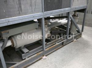 Chiller Before Compressor Sound Blankets