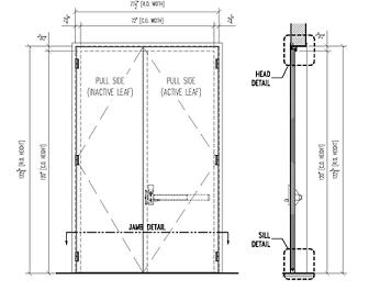 Modular Sound Enclosure Drawing