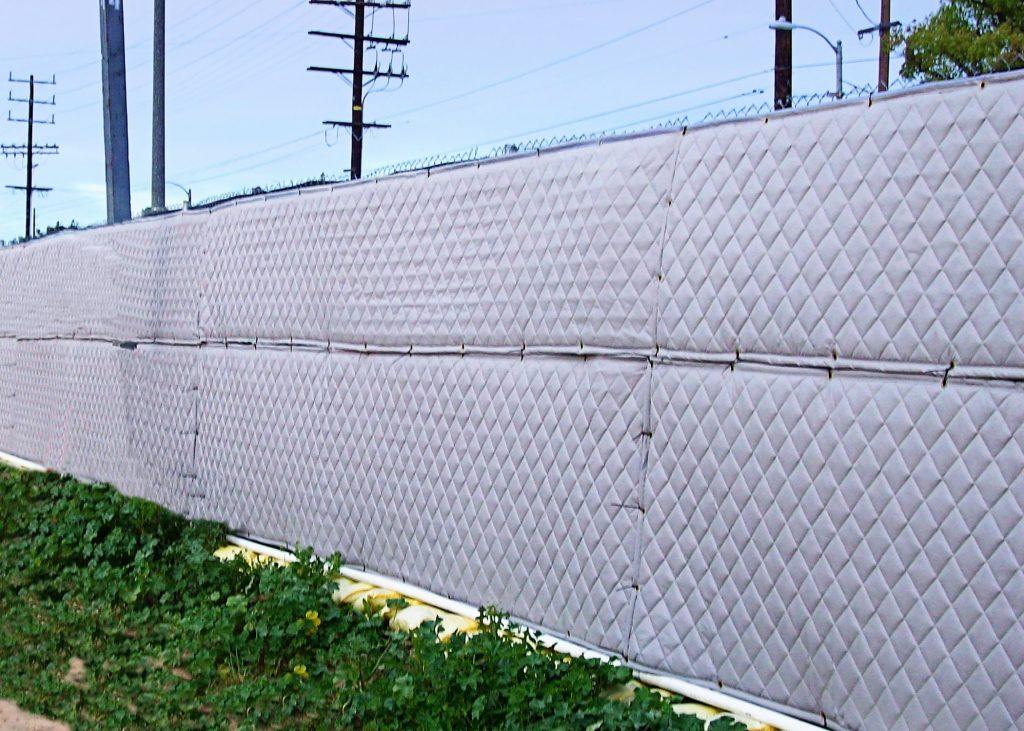 Outdoor Sound Barrier