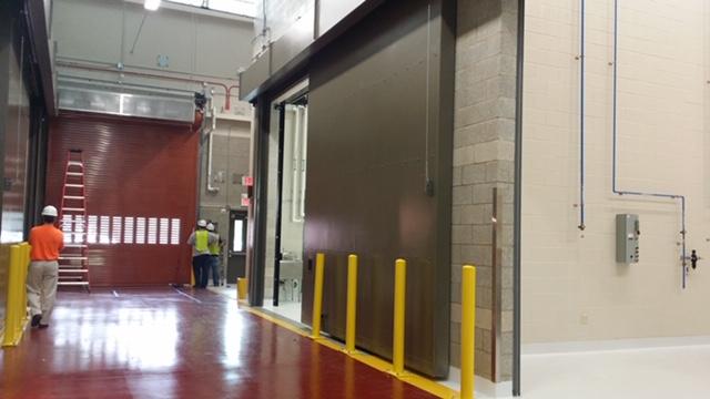 Horizontal Sliding Sound Rated Doors