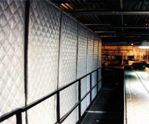 Sound Curtains Mezzanine Conveyor