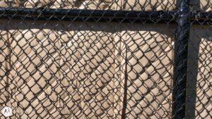 Sound Blanket on Fence