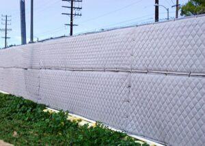Construction Site Sound Blanket